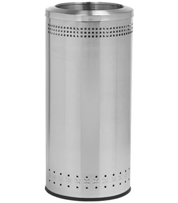 Stainless steel recycling & Waste receptacles
